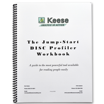 The Jump-Start People Reader Workbook | Keese Consulting
